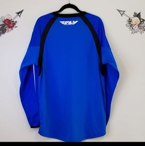 Fly racing windproof jersey